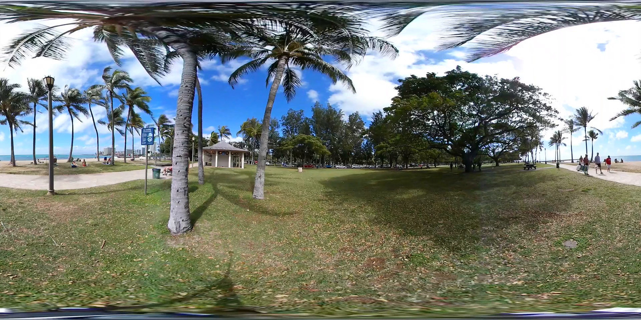 360 vr video of Waikiki Beach Honolulu Hawaii