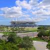 Aerial video Hardrock Stadium Miami FL