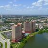 Aerial video Pointe Orlando 4k