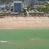 Beautiful aerial footage of Fort Lauderdale Beach Florida