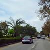 Driving on Alton Road Miami Beach