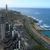Hawaiian Electric Kahe Power Plant smoke stacks