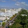 Aerial footage Miami Beach 4k 60p
