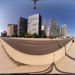 360vr video of the Lakefront Trail in Chicago USA