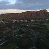 Aerial video of Diamond Head volcanic tuff cone