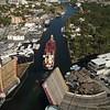 Drone Miami River 4k