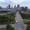 Aerial video Downtown Atlanta Georgia 4k 60p