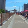 Biking on the Brooklyn Bridge New York