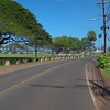 Stock video driving on Haleiwa Road Oahu Hawaii
