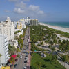 Aerial drone tour Miami Beach 4k 60p