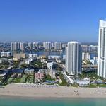 Drone aerial video Sunny Isles Beach Florida