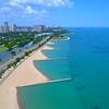 Aerial video Lake Shore Drive 4k 60p