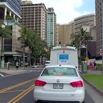 Touring Kalia road Waikiki Beach Honolulu