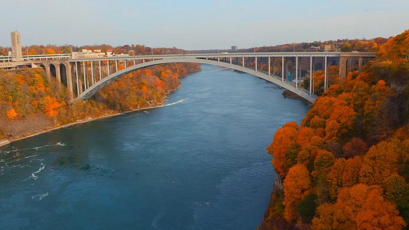 Rainbow Bridge between US and Canada