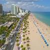 Aerial video Las Olas Boulevard