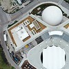 Aerial drone video of the Frost Science Museum