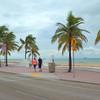People walking on Fort Lauderdale Beach FL