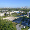 Aerial video Florida International University 4k 60p