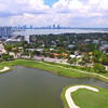 Aerial video Miami Beach Alton Road