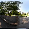360vr video of the Lincoln Memorial Chicago 4k