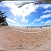 Virtual reality 360 video Waikiki Beach Hawaii