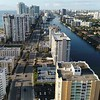 Florida Hollywood Beach aerial