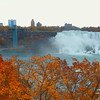 Foliage and Niagara Falls 4k video