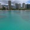 Aerial video of Waikiki Beach 4k 60p
