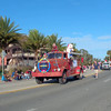 Old fire truck in the St Augustine winter Parade