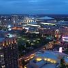 Drone Downtown Atlanta