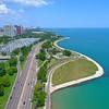 Scenic Chicago shores 4k 60p