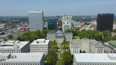 State House Flyover in Columbia, South Carolina