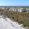Aerial video Beach homes in St Augustine Florida