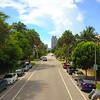 Aerial shot Euclid Avenue Miami Beach