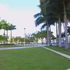 Stock video Marline Park baseball stadium Miami 4k