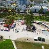 Drone Miami Beach gay pride parade 4k