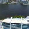 Aerial video Prive Island construction near completion