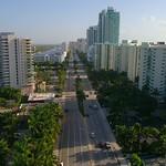 Aerial Hollywood Beach FL