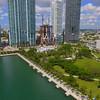 1000 Museum Park aerial video Miami