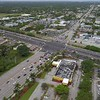 Aerial video major intersection