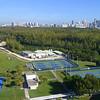 Aerial drone video Florida International University 4k