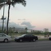 Ala Wai Boulevard at dusk Honolulu 4k