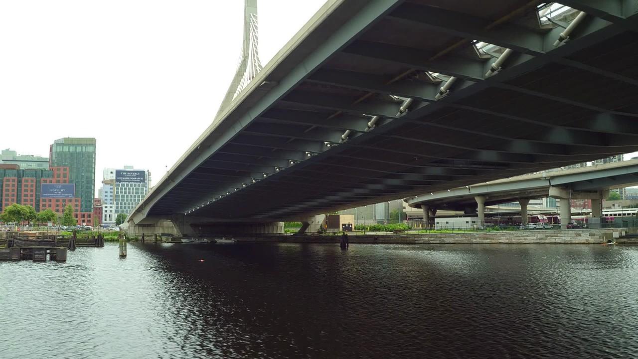 Charles River scene Boston MA