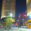 Walking Cleveland Ohio at night