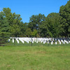 Stock footage Arlington National Cemetery headstones
