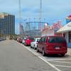 Daytona beach amusement park and sling shot
