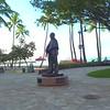 Waikiki Beach scene 4k