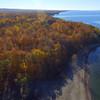 Aerial video foliage Narrowsburg NY