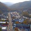 Aerial video Ober tram station