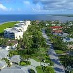 Aerial video North Point Hutchinson Island Florida 4k video
